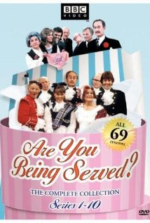 "So apparently it's called ""Are You Being Served?""  I've never actually seen this show."
